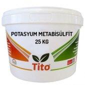 Tito Potasyum Metabisülfit E224 25 Kg
