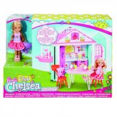 DWJ50 Barbie Chelseanin İki Katlı Evi DWJ50