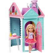 DWJ50 Barbie Chelseanin İki Katlı Evi DWJ50-2