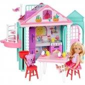 DWJ50 Barbie Chelseanin İki Katlı Evi DWJ50-3
