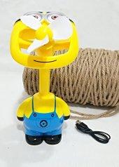 Minion - Özel U.sb Şarzlı Fan