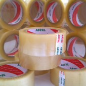 Astel 60 Mm X 100 Metre 6 Adet,şeffaf Koli...