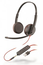 Plantronics Blackwire C3225 Usb Kablolu Ve 3.5 Jacklı Kulaklık