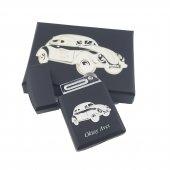 İsma Kişiye Özel Nostaljik Klasik Arabalar Temalı Gazlı Çakmak-3