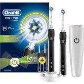 Oral-B Pro 790 Şarj Edilebilir Diş Fırçası Siyah 2'li Paket