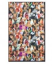 Nevresim Dünyası Dijital Baskı Halı 70x110 Rihanna