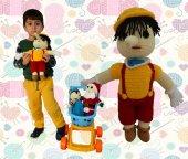 Pinokya Örgü Bebek-4