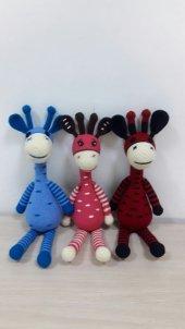 Zürafa Örgü Bebek-2