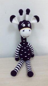 Zürafa Örgü Bebek-3