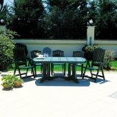 Siesta Klasik 6 Kişilik Bahçe Balkon Teras Masa...