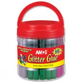 Amos Glitter Glue Simli Yapıştırıcı Plastik...