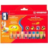 Stabilo Woody 3 İn 1 Crayon (Kuru + Pastel +...