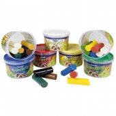 Creall Supersoft Kurumayan Oyun Hamuru 4 Renk x 40 gr. Canlı Renk