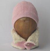 Organic Bonny Baby Organik Bebek Şapkası Atkısı Takım