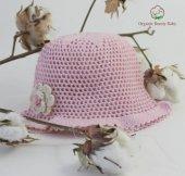 Organik Bebek Şapkası Organic Bonny Baby Şapka