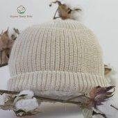 Organik Bebek Şapkası Organic Bonny Baby Bere