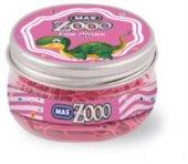 Mas Zoo Yuvarlak Kavanozda Renkli Ataç Pembe