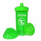 TwistShake TwistShake KidCup Damlatmaz 360ML Suluk 12+ YEŞİL YE360S