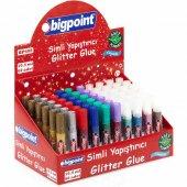 Bigpoint Simli Yapıştırıcı 10 Renk X 6 Adet (60 Lı Sınıf Paketi)