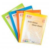 Bigpoint Soft Cover Sunum Dosyası A4 20 Li Sarı