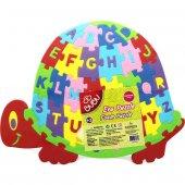 Bubu Eva Puzzle Kaplumbağa Harfler