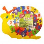 Bubu Eva Puzzle Salyangoz Rakamlar