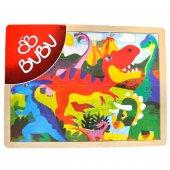 Bubu Ahşap Puzzle 40x30 Cm. 24 Parça
