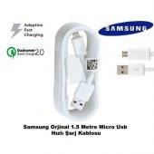Samsung Galaxy Note 4 5 Hızlı Şarj Data Kablosu