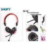 Snopy Sn 58 Kulaklık Mikrofon