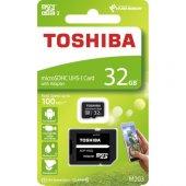 Toshiba 32gb Micro Sdhc Uhs 1 C10 Thn M203k0320ea