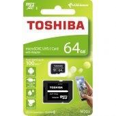 Toshiba 64gb Micro Sdhc Uhs 1 C10 Thn M203k0640ea