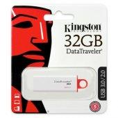 Kingston 32gb Usb3.0 Dtıg4 32gb Beyaz Kırmızı