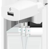 Ttec Speedcharger Universal Şarj Aleti 2.1a Micro Usb,lightning,t