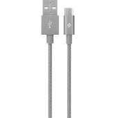 Ttec Alumicable Micro Usb Şarj Kablosu Uzay Grisi