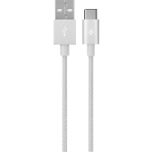 Ttec Alumicable Type C Şarj Kablosu Gümüş