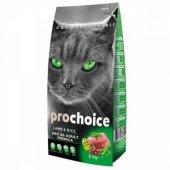 Yetişkin Kediler için Kuzu Etli Mama Prochoice 15 Kg