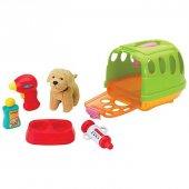 Keenway Taşıma Çantalı Peluş Köpek-2