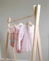 Ceebebek Ahşap Montessori Çocuk Bebek Askı...