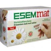 Esemmat Sıvrısıneklere Karşı Krızantem Özlü Mat Tablet 20 Lı (Ye