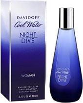 Davidoff Cool Water Night Dive Edt 80 Ml Kadın Parfüm
