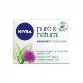 Nivea Visage Pure Natural Kırışık Karşıtı Gündüz Kremi