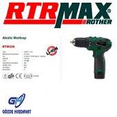 RTRMAX RTM330 AKÜLÜ MATKAP 10.8V / 1.5 A 10MM