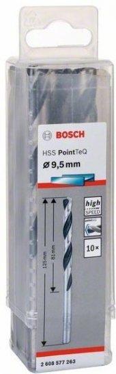 Bosch Hss Pointteq Matkap Uç Metal 9.5x81x125mm 10...