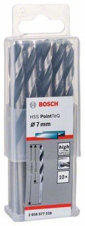 Bosch Hss Pointteq Matkap Uç Metal 7x69x109mm 10 P...