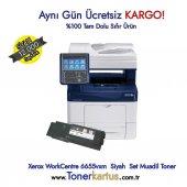 Xerox Workcentre 6655vxm Siyah Muadil Toner 106r02755