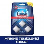 Finish Bulaşık Makinesi Temizleyici 3lü Tablet