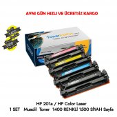 Hp 201a Hp Color Laserjet Pro M6d61a 1 Set Muadil Toner