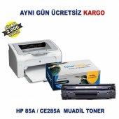 Hp Laserjet Pro P1104 Muadil Toner Hp 85a Ce285a Toner