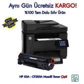 Hp 83a Cf283a Laserjet Pro M225dn Muadil Toner
