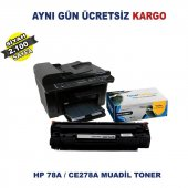 Hp P1606 Muadil Toner Hp 78a Ce278a Toner Çipli